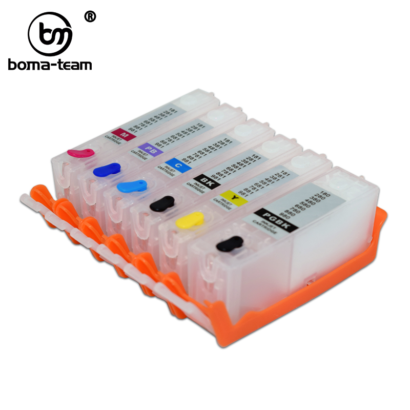 Refillable Ink Cartridg For Canon TS8120 TS9120 TS8130 TS8140 TS9140 TS8150 TS8160 TS9160 TS8170 TS9170 TS8180 TS9180 TS8190|Ink Cartridges| |  - title=