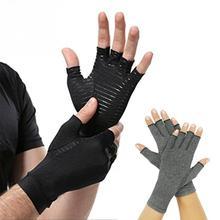 Поддержка запястья рука артрита боли в суставах облегчение запястья скобка упражнения тяжелой атлетики Перчатки Тренировки Скольжения спорт фитнес перчатки