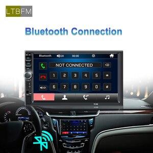 "Image 3 - LTBFM Touch Screen 2 Din Car Radio 7"" Car Stereo Radio Bluetooth Autoradio Multimedia Car MP5 Player Auto Audio FM USB Camera"