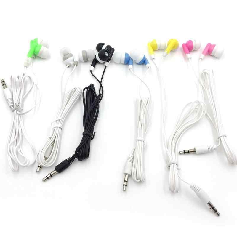 Nowa moda Stereo słuchawki douszne słuchawki muzyczne zestaw słuchawkowy dla aktywnych słuchawki douszne 5 kolory wysokiej jakości słuchawki do telefonu komórkowego