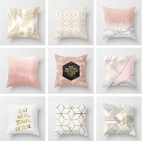 Limit 100 45x45 Polyester Letter Cushion Case Sofa Car Waist Cushion Home Decor Fancy Hot Sale Sofa Bed Cushion