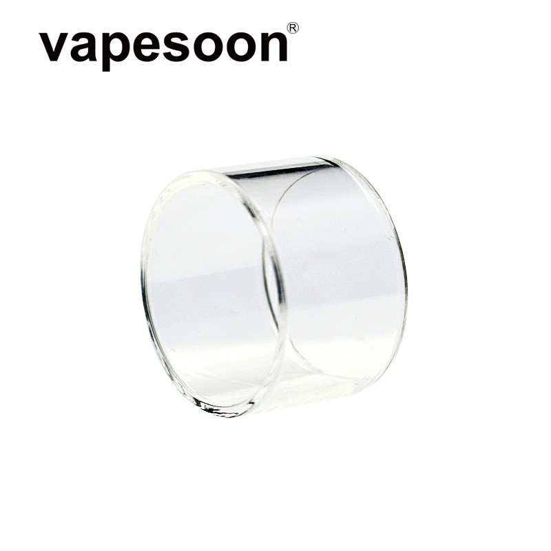 Authentic VapeSoon Replacement Pyrex Glass Tube For 2ml Veco Tank Atomizer Fit Veco One Kit