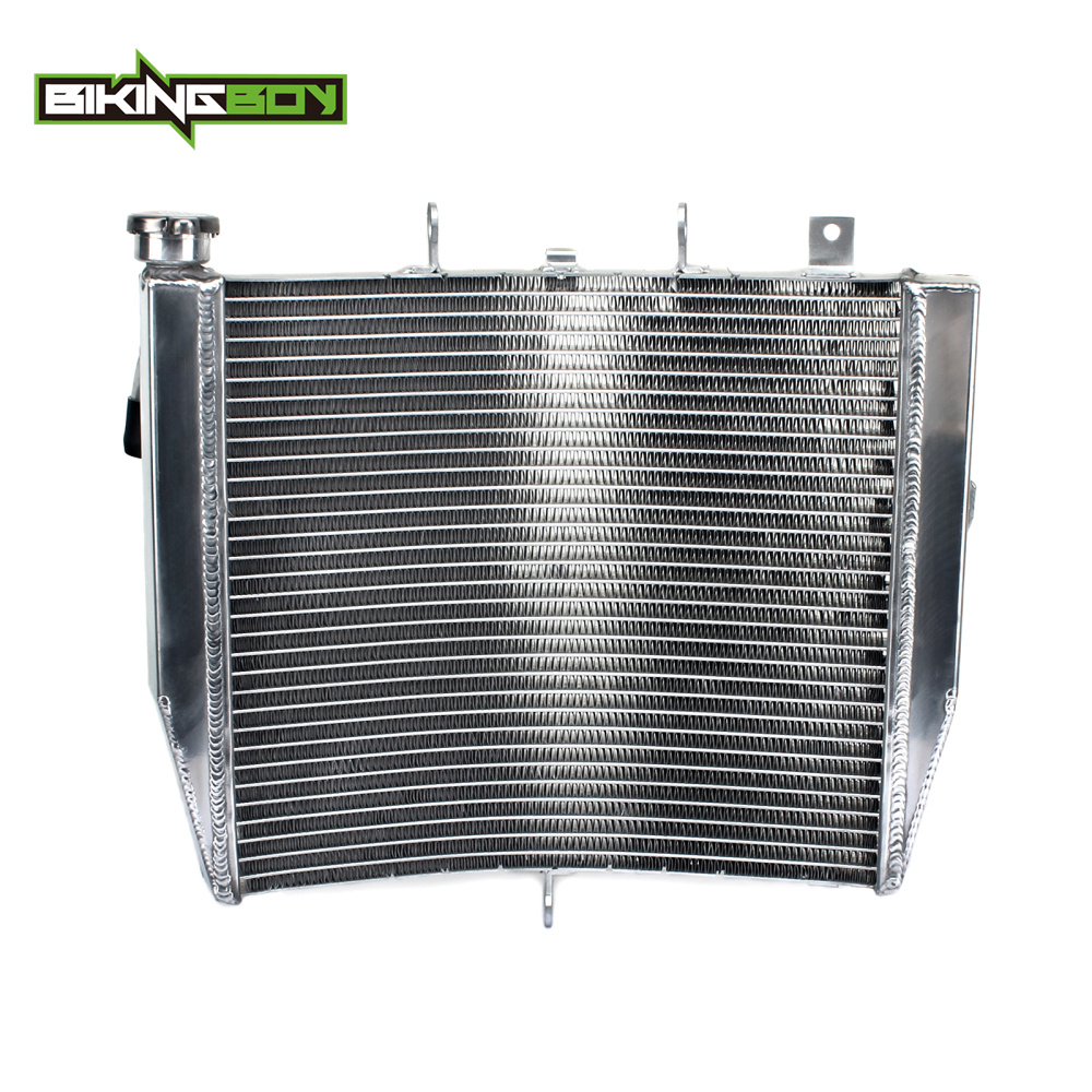 BIKINGBOY Motorcycle Aluminium Core Engine Radiator Cooler Cooling for Kawasaki ZX10R ZX 10R ZX 10R 1000 Ninja ZX1000 08 09 2010-in Engine Cooling & Accessories from Automobiles & Motorcycles    1