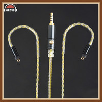 Okcsc 0 .78mm 2 Pin 2 .5mm Balanced Version Plug Cable Replacement Cables Earphone Upgrade Tinned Copper Wire Dedicated Handmade