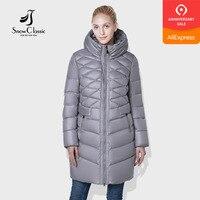 SnowClassic 2018 camperas mujer abrigo invierno jacket women coat women park Fashion windproof thick hooded European design