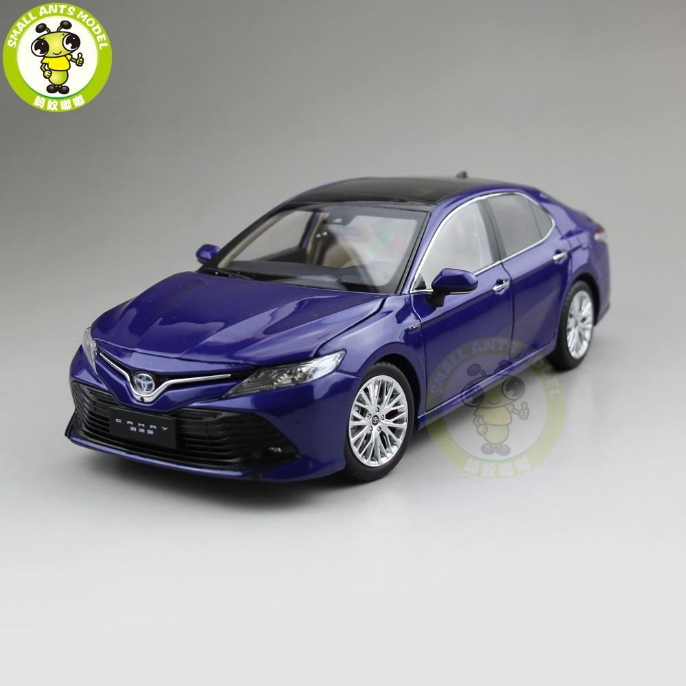 1 18 Toyota Camry 2018 8th generation hybrid Diecast Car Model Toys for kids Children Birthday
