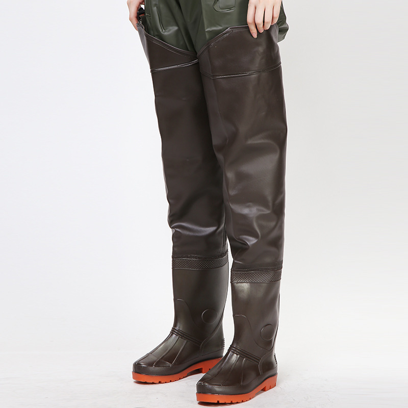 Waterproof-Pants Trousers Cloth Catch Rain-Boots Hunting Fish Wading Men with Women Outdoor