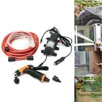 6Pcs/Set 12V 100W High Pressure Self Priming Electric Car Portable Wash Washer Washing Water Pump