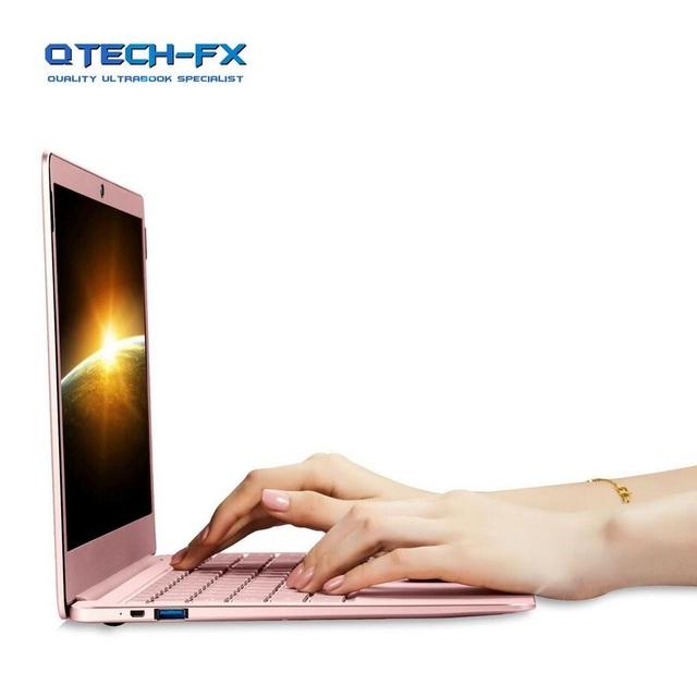 Metal Ultrabook 512GB SSD Or 64GB SSD +6GB RAM CPU Intel 4 Cores Windows10 1080P Arabic French Spanish Russian Keyboard Backlit