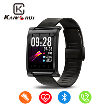 Fitness Bracelet IPS Color Screen Heart Rate Monitor Pedometer Smart Wristband with Activity Tracker Watch Men for Android IOS цена 2017