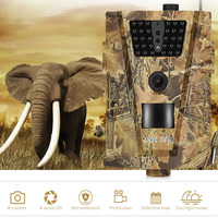 Outlife Hunting Trail Camera 12MP 1080P 30pcs Infra LEDs 850nm Night Vision Hunting Camera Wild Photo Traps Camera Night Vision