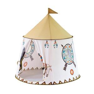 Image 3 - Kid Teepee Casa Tenda 123*116cm Portatile Princess Castle Regalo Per I Bambini I Bambini Giocano Tenda del Giocattolo Di Compleanno Di Natale regalo