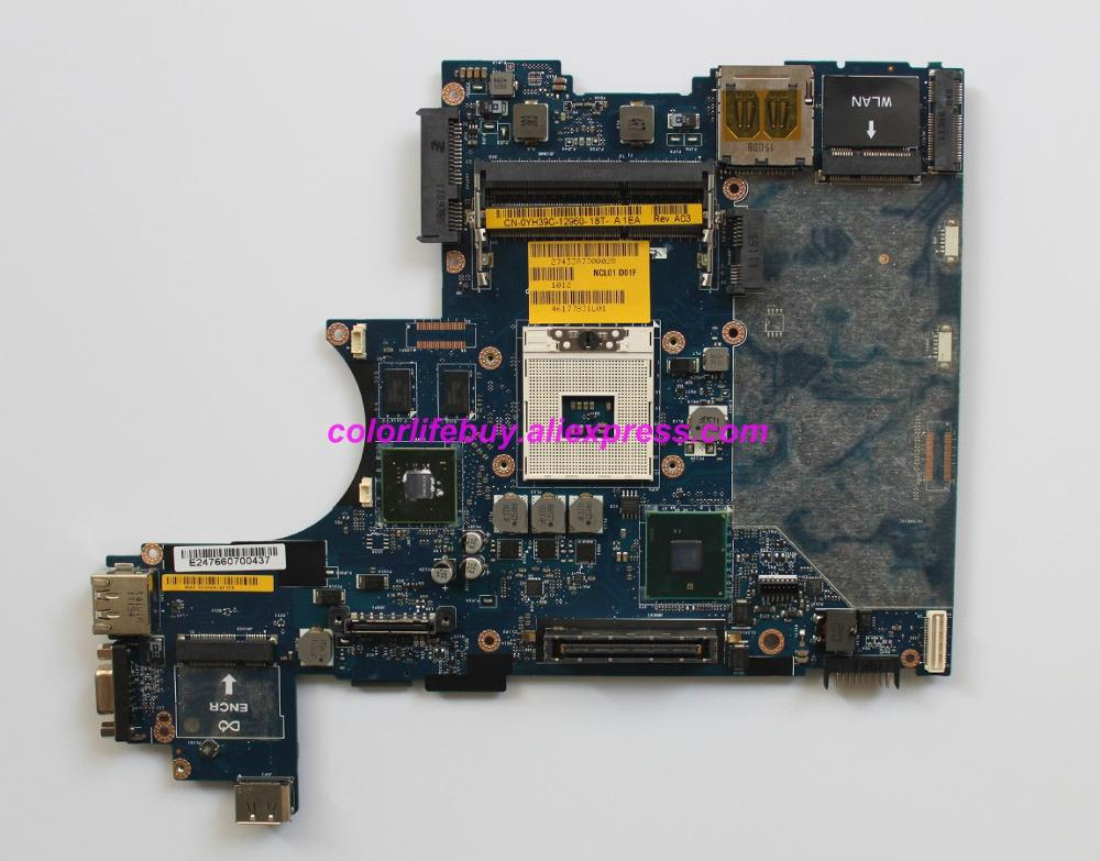 Genuine YH39C 0YH39C CN 0YH39C LA 5472P w N10M NS S B1 GPU Laptop Motherboard for Dell Latitude E6410 Notebook PC-in Laptop Motherboard from Computer & Office