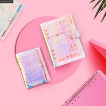 2019 A5 A6 Dotted Bullet Journal Set Notebook Quality Set Diary Planner Stationery School Supplies Gift Tools Sketchbook blank page a5 notebook plants floral diy diary planner with rope notepad painting journal record school supplies gift stationery