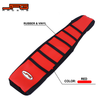 Motorcycle Rubber Soft Seat Cover For HONDA CR125 CR125R CRF150R CR250 CR250R CRF250R CRF250X XR250R CRF450R CRF450X CR500R XR image