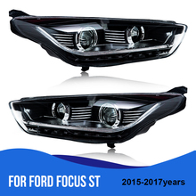 Roadot For Ford Focus St 2017 2016 Hid Led Headlights Embly Headlamps