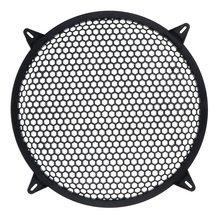Subwoofer Grid Car Speaker Amplifier Grill Cover Mesh- 10 Inch