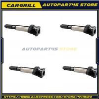 4Pcs Ignition Coils E87 E88 E46 E90 E60 E63 E83 E53 E70 X5 X3 Z4 12131712219 12131712223 12137551260 for BMW