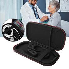 Стетоскоп коробка для хранения портативный дорожный Чехол медицинская Бытовая сумка EVA ударопрочный жесткий диск ручка органайзер для стетоскопа