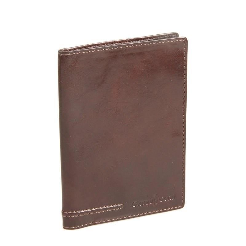 Passport cover Gianni Conti 707454 Brown passport cover o 31 sh plum