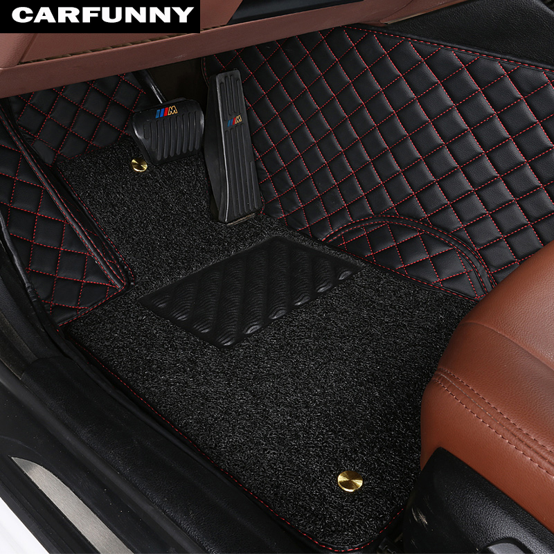 Custom fit car floor mats for Land Rover Discovery 3 LR3 Discovery 4 LR4 5D rugs carpet floor liners(2004 present)