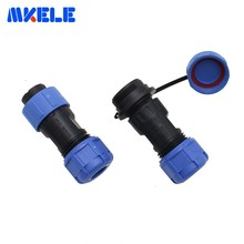 Waterproof Connectors IP68 Aviation Plug And Socket Connector Male And Female Docking Connector SP17 4P Straight Butt Connector hirose connector 4 pin male and female couple hr10a 7p 4p hr10a 7r 4s recording equipment camera power plug socket