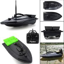 Flytec Рыбалка инструмент Smart радиоуправляемая лодка корабль игрушка Цифровой автоматический частота модуляции с дистанционным радиоуправлением устройства рыболокаторы игрушки
