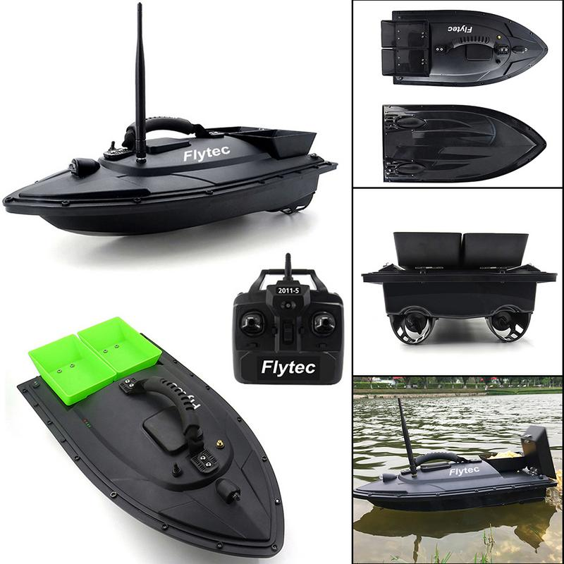 Flytec outil de pêche Smart RC appât bateau jouet numérique automatique Modulation de fréquence dispositif de radiocommande à distance détecteur de poisson jouets