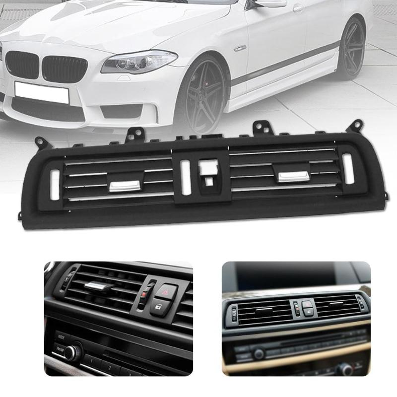 Image 3 - Car Center A/C Air Outlet Vent Panel Grille Cover for BMW 5 Series F10 F18 523 525 535 Car Auto Replacement Parts-in Air-conditioning Installation from Automobiles & Motorcycles