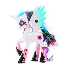 14cm My Little Pony Toys Friendship is Magic Pop Pinkie Pie Rainbow Unicorn Pony PVC Action Figures Colletion Model Dolls