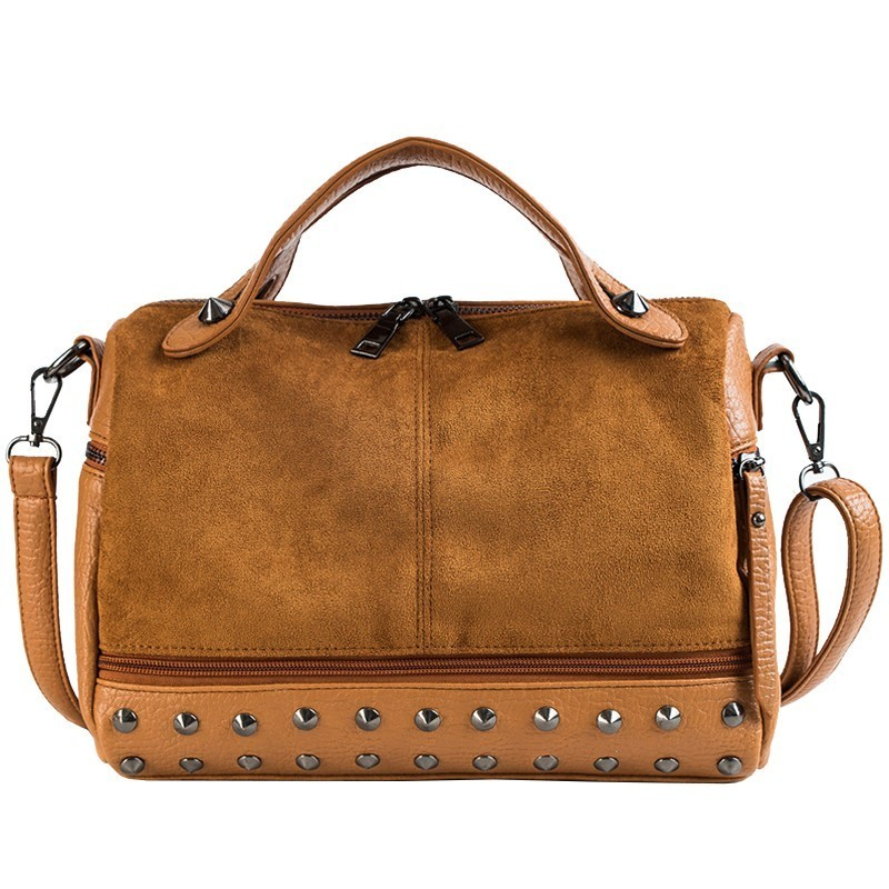 Grande In Delle Spalla brown Di Donne Messenger burgundy Bag Del Borsa Alta Tote Black Pelle Europeo Retro Bolsa Progettista Kajie Qualità Cuoio Scamosciata Sacchetto gray qCAwv6nT