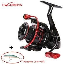 Tsurinoya Whirlwing 800 1000 2000 3000 Saltwater Spinning Fishing Reel 8+1BB Max Drag 4-11kg Metal Handle Carp Spinning Reels new ryobi accurist 2000 3000 4000 fishing spinning reel 4 1bb 3kg 5kg max drag reels fishing wheels metal spool saltwater