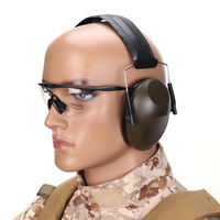 2019 Noise Cancelling Headset Denoiser Headphones Outdoor Hunting Head mounted Tactical Communication Equipment for Airsoft