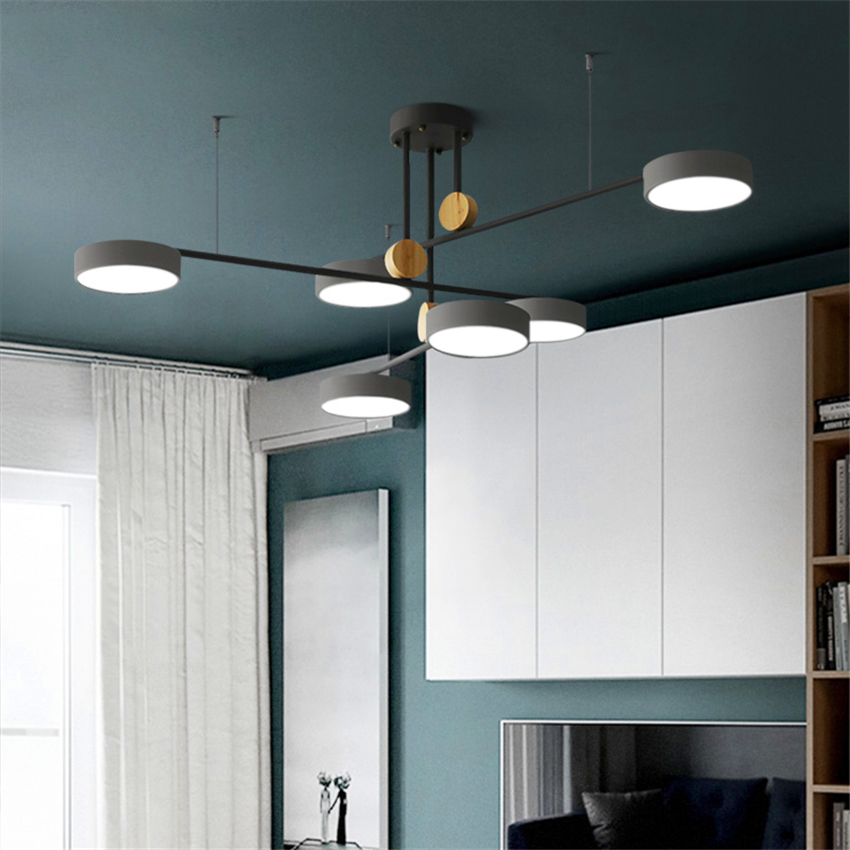 Nordic Led Pendant Light Lighting Luxury Pendant Lamp Rotate Bedroom Dining Living Room Hanging Lamps Kitchen Fixtures Luminaire