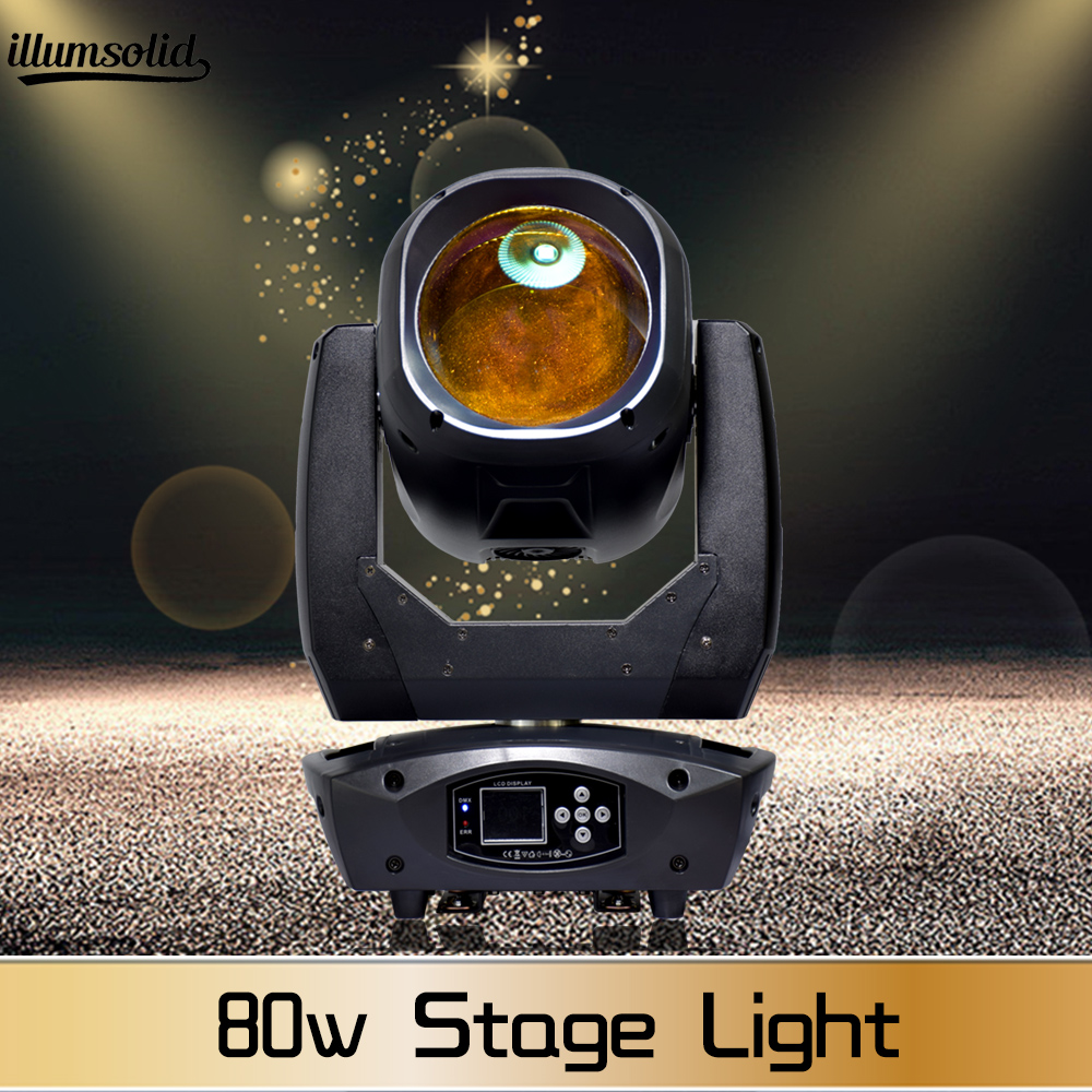 Led Moving Head Beam Light Effect Rgbw 4in1 Dmx512 Control 80w Disco Light