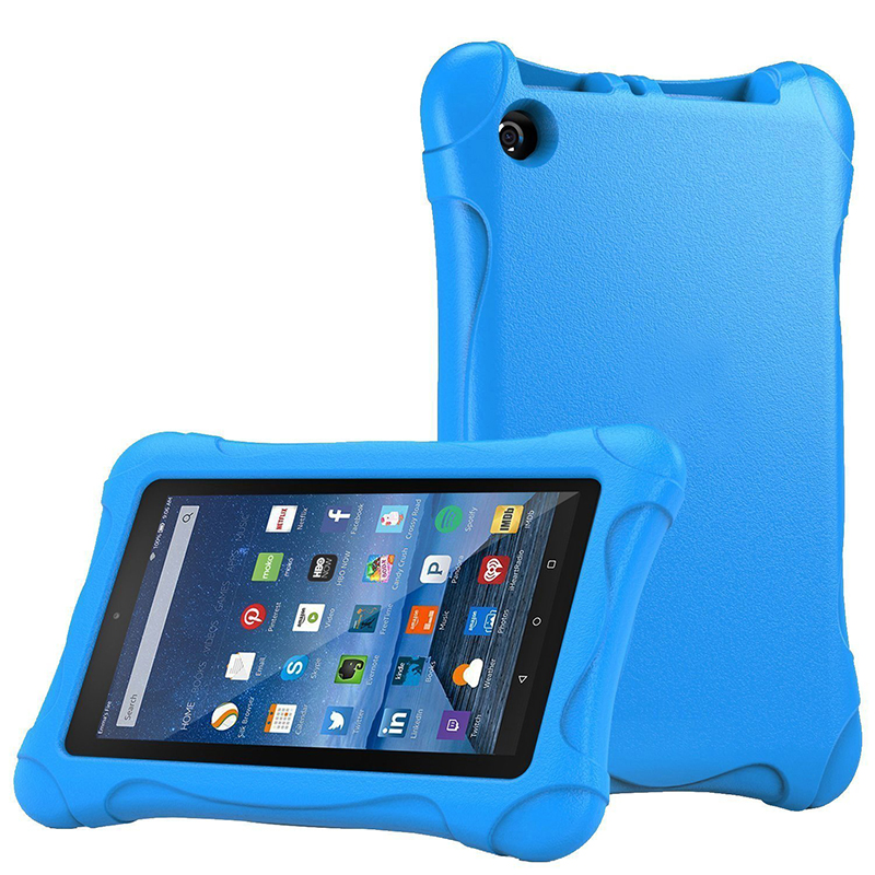 Kids Shockproof Case Cover For Amazon Kindle Fire HD 7 2015/2017 Children Thick Foam EVA Back Cover 7 inch Tablets Sleeve Case magnetic attraction bluetooth earphone headset waterproof sports 4.2