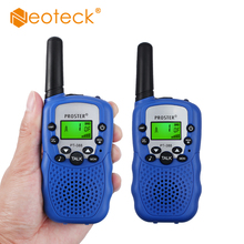 Neoteck UHF 446MHz 2 Twin Pack T-388  Wireless Walkie Talkie Auto Multi Channels 3km Long Range for Children Radio Woki Toki