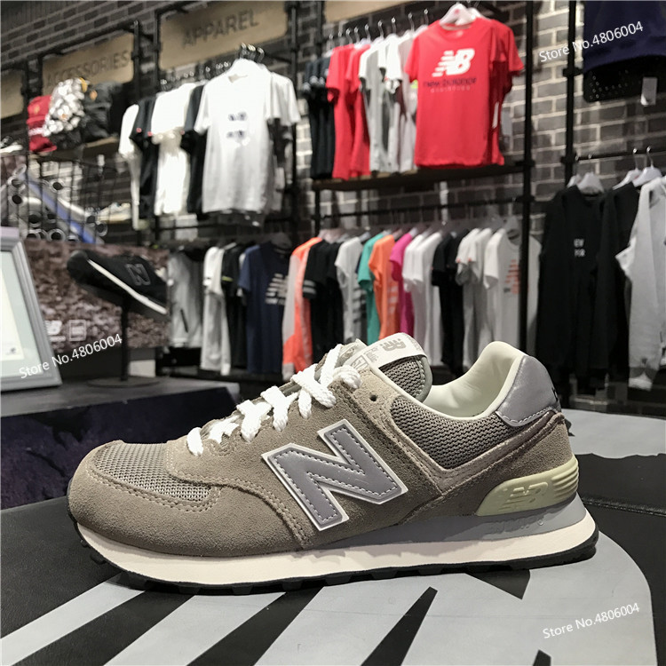 5b6e161a US $53.58 22% OFF|New Balance/nb 574 Men Shoe Tricolor Women's Shoes  Restore Ancient Ways Leisure Time Running Shoe nb574 Ml574vg / Vn / Vb-in  Running ...