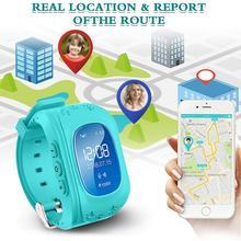 цена на Kids Watch Smart Phone With GPS Tracker SOS For Boy Girl Children Waterproof 2G/3G Smartwatch Anti-Lost Remote Monitor Pedometer