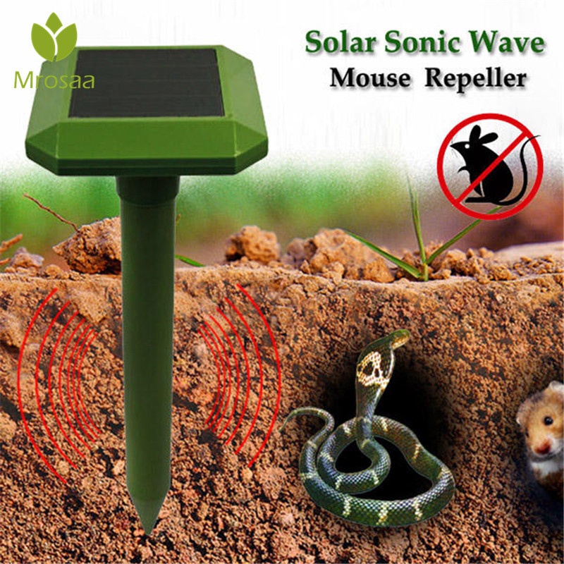 Nova Onda de Energia Solar Mouse Repeller Cobra Animal Animal Dissipador de Energia Solar Jardim Ao Ar Livre Do Jardim Ao Ar Livre Animal Scarer