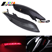 Motorcycle LED Turn Rear Tail Light Brake Lights Lamp For Ducati Diavel 2011 2015 Carbon 13 14 15 Accessories Parts