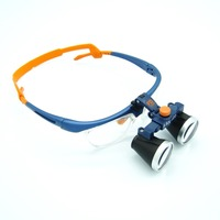 High Quality Ultra Light 3.5X Medical magnifying glass Surgical loupes Dental Loupes medical loupes head loupes FD 503 G
