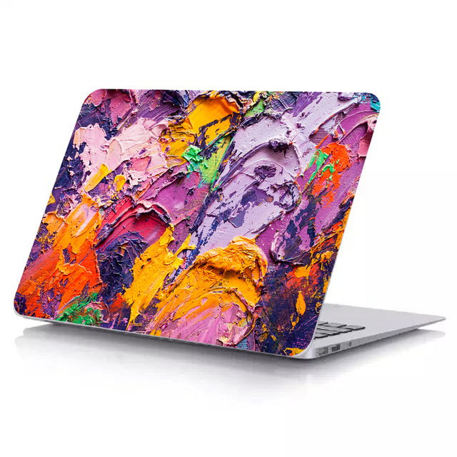 Oil Painting series Case For Apple Macbook Air 11 13 Touch Bar 13 15 Laptop Cover Shell model A1990 A1707 A1989 A1706 A1708