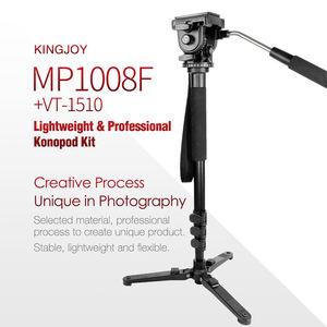 Image 3 - Kingjoy Mp1008F Set Professional Monopod Set Dslr For All Models Camera Tripod Stand Para Movil Flexible Tripe Stativ Slr Dslr