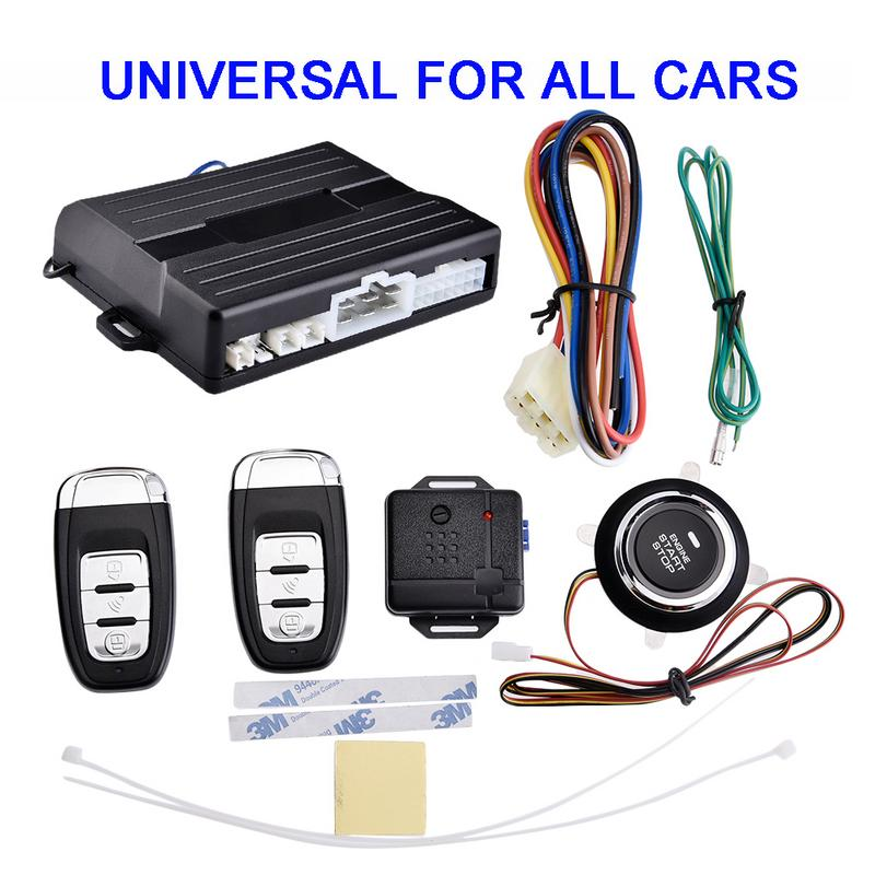 Car Remote Control Start Remote Search Key Car Intelligent Anti-theft System Smart Key Engine Start The Anti Misoperation image