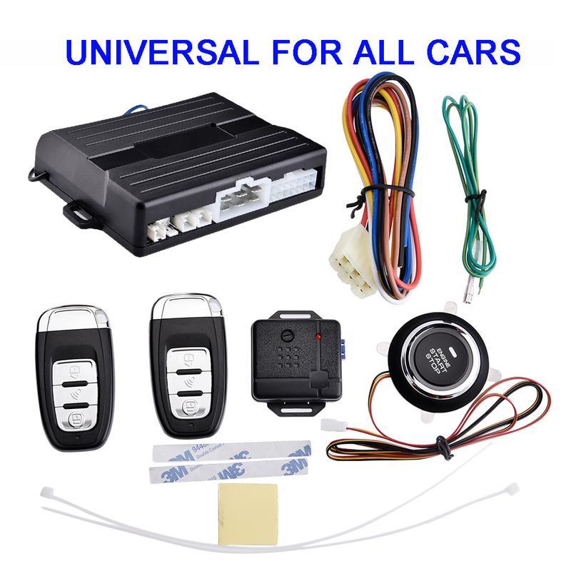 Démarrage de la télécommande de voiture recherche à distance clé système antivol Intelligent de voiture démarrage du moteur à clé intelligente Anti-erreur de fonctionnement