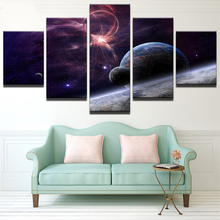 Home Decor Pictures Pictures Stars Galaxies Painting On Canvas Room Decoration Print Poster Picture Canvas Painting on the Wall galaxies