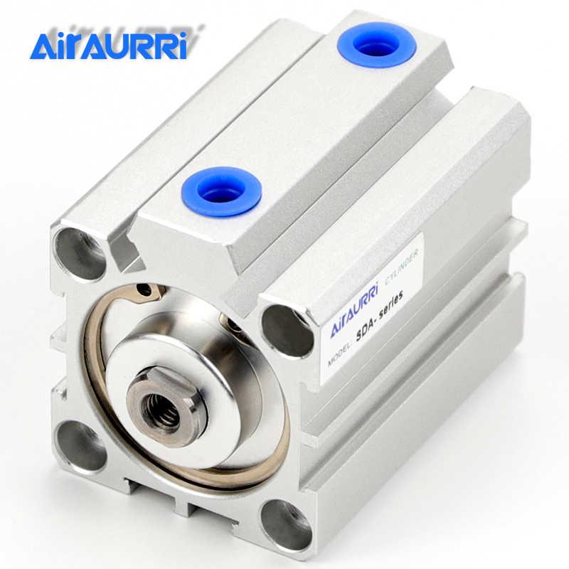 SDA 50 Pneumatic CYLINDER air cylinder AIRCYLINDER 50mm HOLE HUB 10mm 100mm