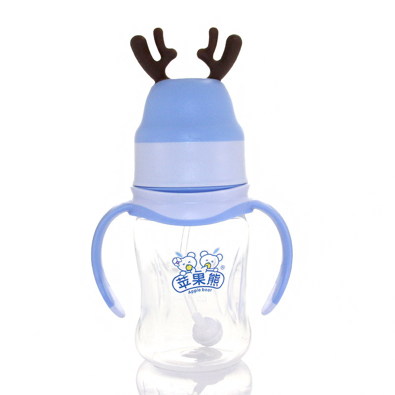 Бутылочка для кормления ребенка маленький рога Pp Baby бутылочка для кормления пластиковая бутылочка для кормления Oem Индивидуальные 210 мл