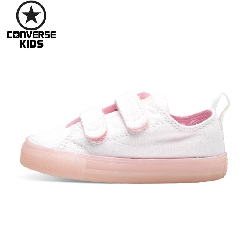 CONVERSE Children's Shoes Magic Subsidies Girl Baby Low Help Canvas Breathable Shoes #760749C S 760750C S